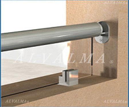 Barandillas de aluminio en madrid for Pasamanos de aluminio