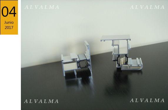 perfiles RPT de ventanas de aluminio