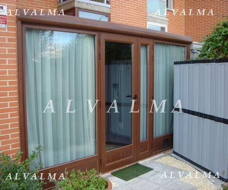 Cerramientos de aluminio en madrid terrazas porches alvalma - Cerramientos de aluminio para terrazas ...