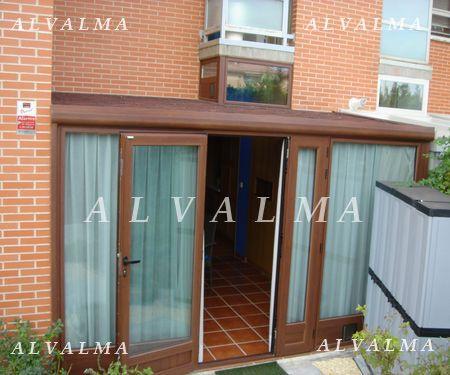 Cerramientos de aluminio en madrid terrazas porches alvalma - Puerta terraza ...