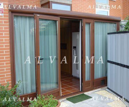 Cerramientos de aluminio en madrid terrazas porches alvalma - Cerramiento de aluminio ...