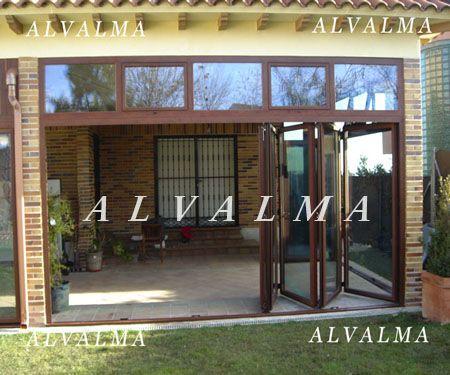 Puertas plegables ventanas y puertas de aluminio alvalma - Puertas plegables de aluminio ...