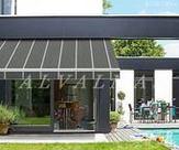Toldo veranda de aluminio instalado en Madrid