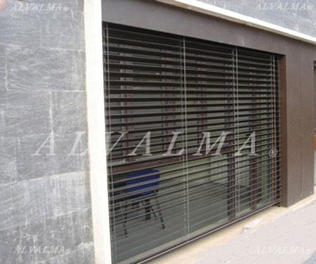 Venecianas exteriores de aluminio persianas exteriores alvalma - Persianas venecianas de aluminio ...