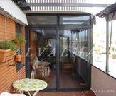 Puerta de aluminio sistema Corredera Perimetral RPT instalada en Valdemoro, Madrid