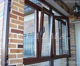Ventanas de aluminio sistema Practicable y apertura oscilobatiente instaladas en Casarrubuelos, Madrid