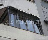 Ventanas de aluminio sistema Oscilo-Batientes instaladas en Valdemoro, Madrid