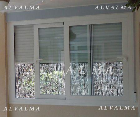 Ventanas puertas contraventanas de aluminio en madrid alvalma - Ventanas rotura puente termico precios ...